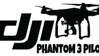 DJI Phantom 3 Cam Sticker Kod:08