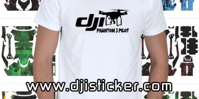 Dji Phantom 3 Tshirt Kod: kısa-beyaz-y6