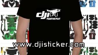 Dji Phantom Tshirt Kod: kısa-siyah-y5