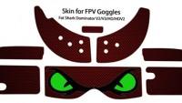 Fat Shark Dominator v1 / v2 kod:0009