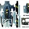 Mavic Pro Full Sticker kod: 0015