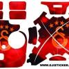 Phantom 3 standart sticker 4 pilli setKod:s002