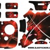 Phantom 3 yeni sticker 4 pilli set Kod:051
