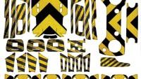 Dji Spark Full Sticker Seti Kod:dsfset0033