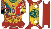 Dji Spark Gövde – Kumanda Sticker Kod:016