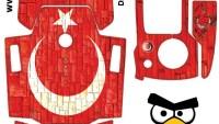 Dji Mavic Gövde – Kumanda Sticker Kod:007