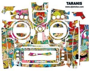 FrSky Taranis X9D Plus Sticker
