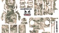 Mavic Air Full Sticker Kod:ma0028
