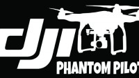DJI Phantom Cam Sticker Kod:05