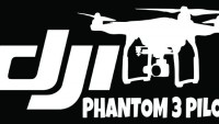 DJI Phantom 3 Cam Sticker Kod:07