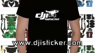 Dji Phantom 3 Tshirt Kod: kısa-siyah-y7