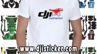 Dji Phantom  Tshirt Kod: kısa-beyaz-q3