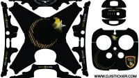 Phantom 4 Pro Full Sticker kod: P4p01