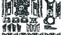 Dji Spark Full Sticker Seti Kod:dsfset0013