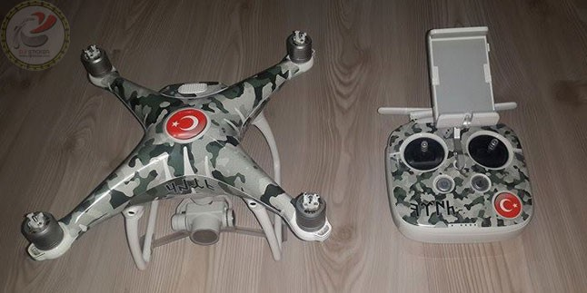 Dji Phantom 4 Sticker