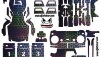 Mavic Air Full Sticker Kod:ma0021