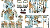 Mavic Air Full Sticker Kod:ma0019