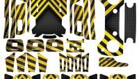 Dji Spark Full Sticker Seti Kod:dsfset0034