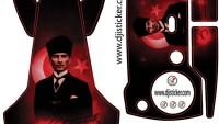 Dji Mavic Air G̦vde РKumanda Sticker Kod:0012