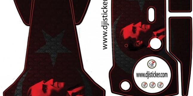 Dji Mavic Air G̦vde РKumanda Sticker Kod:007