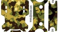 Dji Spark Gövde – Kumanda Sticker Kod:007