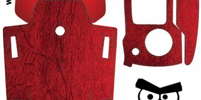 Dji Mavic Gövde – Kumanda Sticker Kod:015